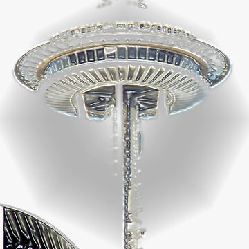 Seattle Space Needle by Perspective