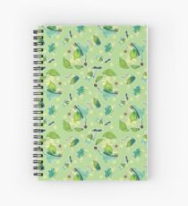 Korok Pattern Spiral Notebook