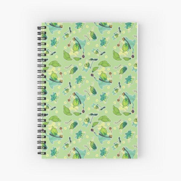 Korok Pattern Spiral Notebook
