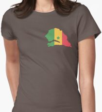 Senegal Womens Fitted T-Shirt