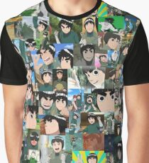 Rock Lee Being Cute Graphic T-Shirt