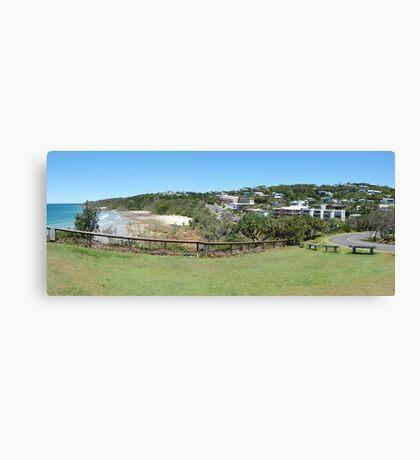 Coolum panorama Canvas Print