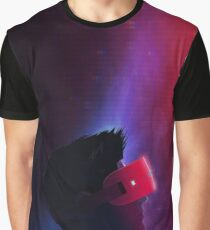 Retrowave VR Guy Graphic T-Shirt