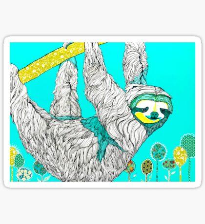 Spring Sloth Sticker