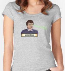 Monkmaaaan! Women's Fitted Scoop T-Shirt