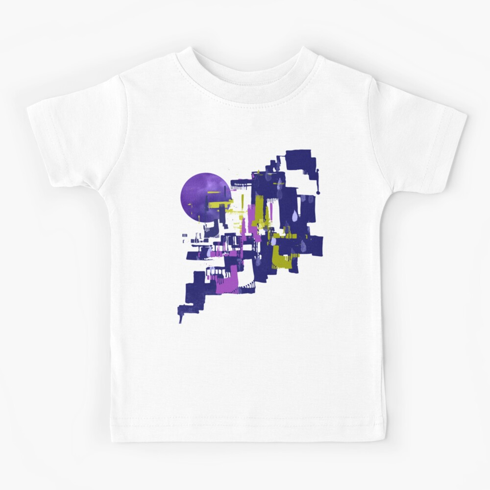 Abstract Cityscape Kids T-Shirt