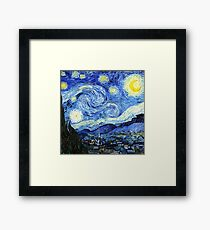 The Starry Night - Vincent van Gogh Framed Print