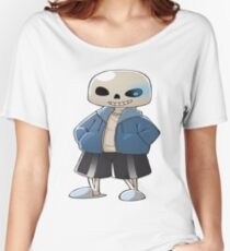 Sans The Skeleton Women's Relaxed Fit T-Shirt