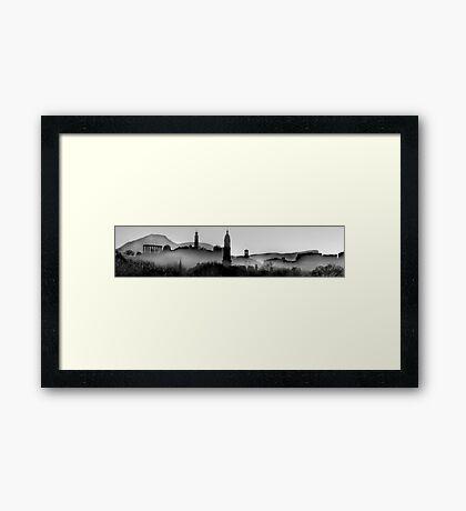 """""""Auld Reekie"""" Framed Print"""