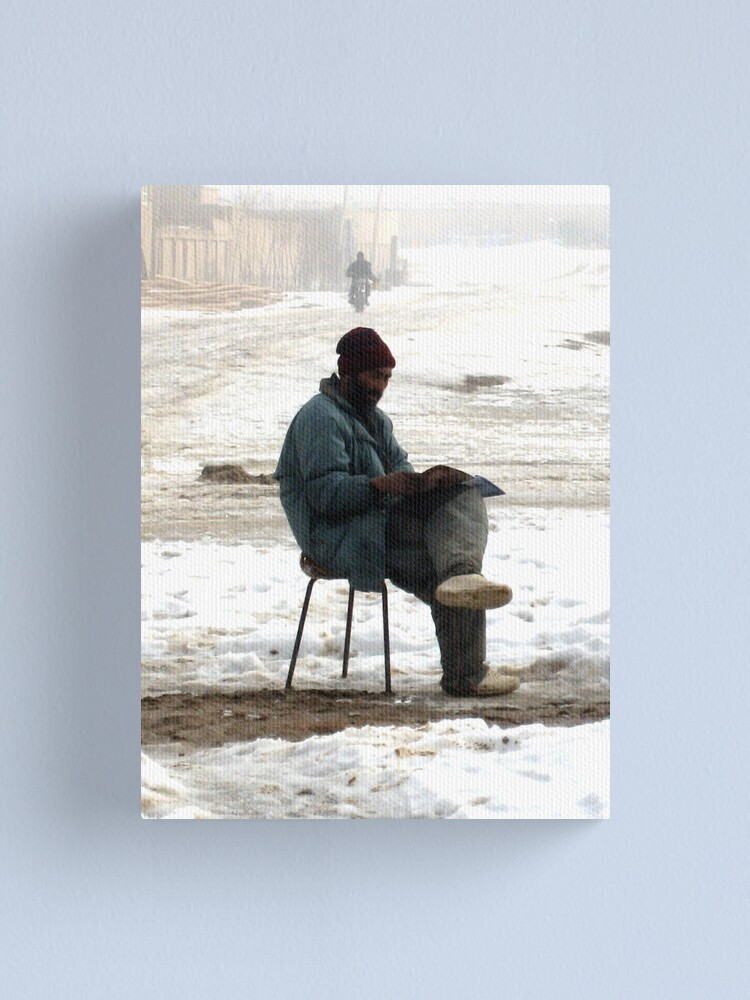 Alternate view of Life (Afghanistan) 2 Canvas Print
