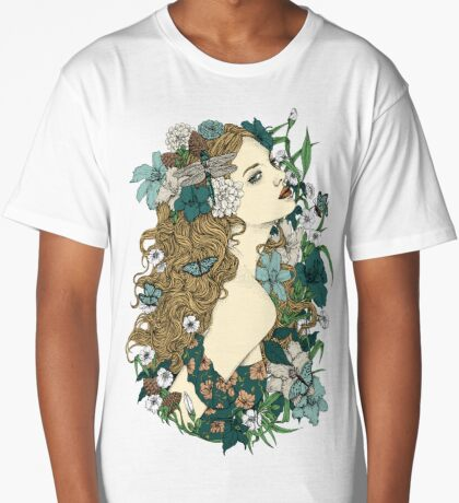 Scent Of Spring Long T-Shirt
