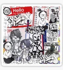 sticker slaps street art Sticker