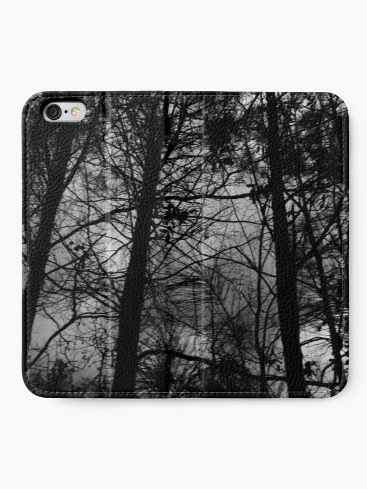 Alternative Ansicht von ... über eine dunklere Oktave der Existenz nachzudenken. ... iPhone Flip-Case