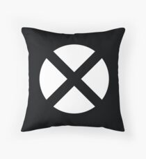 X Logo Throw Pillow