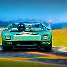 Ford GT40 Targa Florio by Stuart Row
