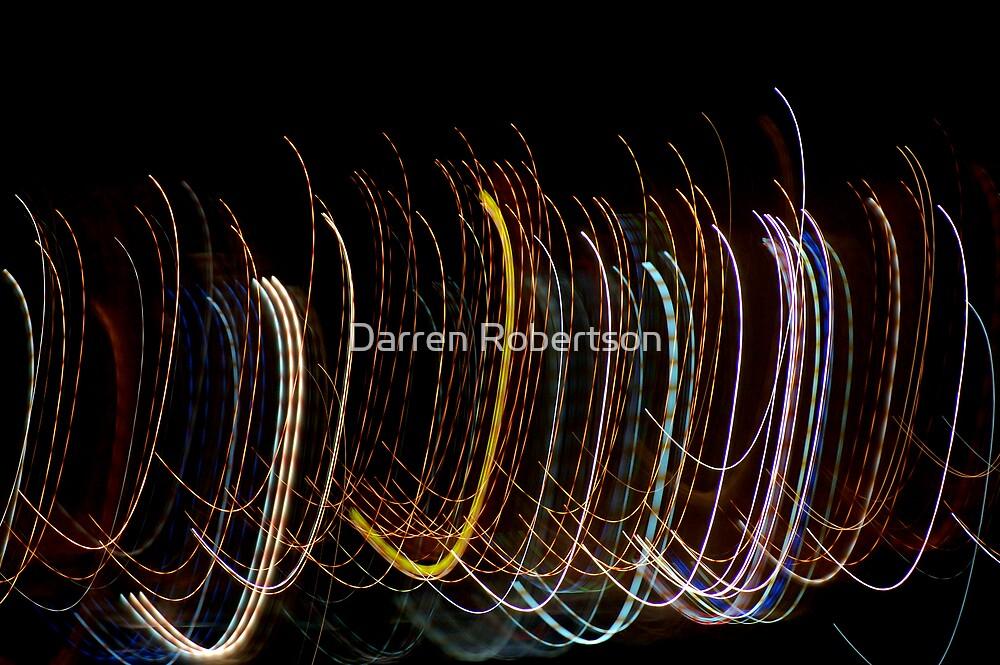 Abstraction of Denia 3 (Denia Spain 2006) by Darren Robertson