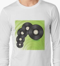 vinyl records Long Sleeve T-Shirt
