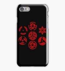 Naruto Sharingans iPhone Case/Skin