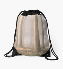 Into the Mist Drawstring Bag