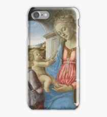 Imitator Of Fra Filippo Lippi - The Virgin And Child With An Angel iPhone Case/Skin