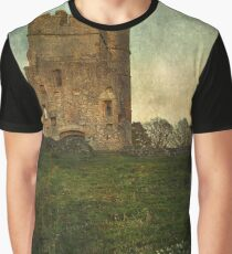 Donnington Castle Gatehouse Graphic T-Shirt