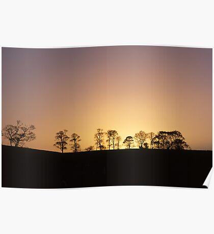 Cramond Sunset Poster