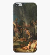 Houasse, Michel-Ange - Offering To Bacchus iPhone Case