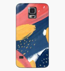 Pink/Yellow/Blue Case/Skin for Samsung Galaxy