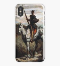 Honore Daumier - Don Quixote In The Mountains iPhone Case/Skin