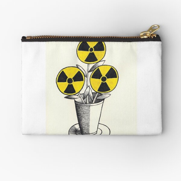"""The Flower of Evil"" Zipper Pouch"