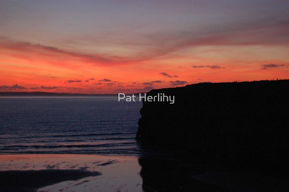 Ballybunnion Sunset 1 by Pat Herlihy
