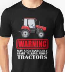 Spontaneously Talking Tractors Unisex T-Shirt
