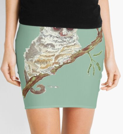 Pippin, the Bush baby Mini Skirt