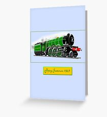 Steam Locomotive - The Flying Scotsman 1923 Greeting Card