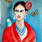 Frida Kahlo ... by me :) by karina73020