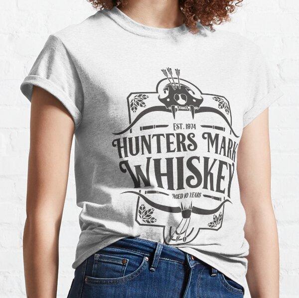 Hunters Mark Whiskey (Black) Classic T-Shirt