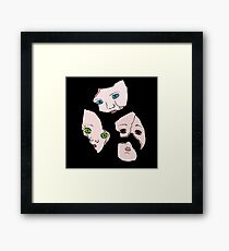 Broken Dolls Framed Print