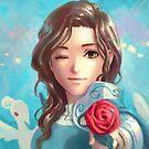 Rose by furea