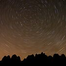Behind the Rocks at night by Scott Ingram