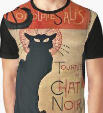 Le Chat Noir - The Black Cat Graphic T-Shirt