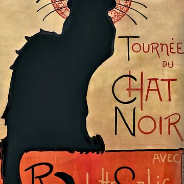 Le Chat Noir - The Black Cat by EveStock