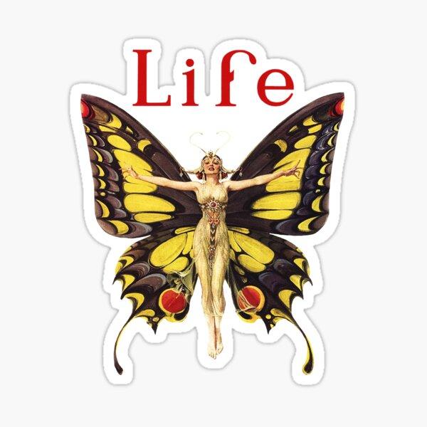 Vintage Life Cover Magazine Sticker