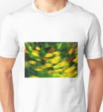 Summer garden in blur T-Shirt