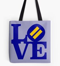 Equality In Love (Human Rights Campaign Colours/Colors) Tote Bag