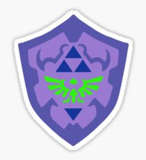 Dark Hylian Shield 3 Sticker