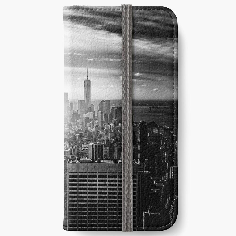 New York City Skyline iPhone Wallet