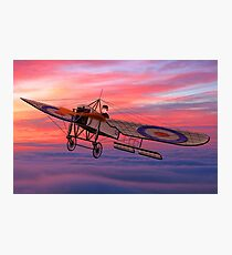Royal Flying Corps Bleriot XI-2 Photographic Print