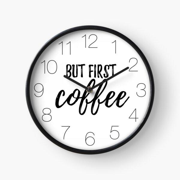 """KAFFEE """"Cadinera kaufen. Am besten als Aufkleber. Für Kaffeeliebhaber. ;)   Uhr"""