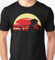 Samurai champloo silhouette Unisex T-Shirt