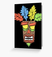 N.Sane Mask Greeting Card